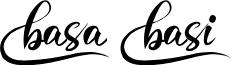BasaBasi font
