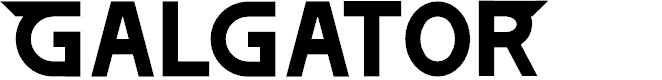 Preview image for GALGATOR Font