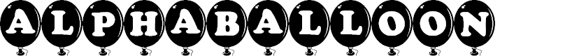 Preview image for AlphaBalloon Font