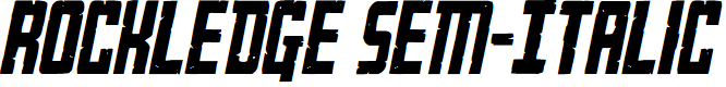 Preview image for Rockledge Sem-Italic