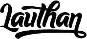 Preview image for Lauthan Font
