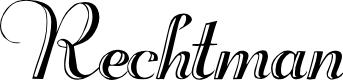 Preview image for Rechtman Plain Font
