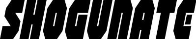 Preview image for Shogunate Condensed Italic