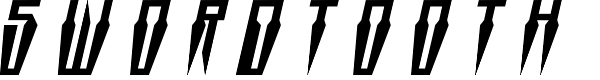 Preview image for Swordtooth Title Italic