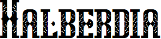 Preview image for Halberdia Regular Font