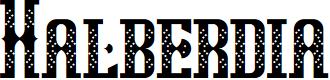 Preview image for Halberdia Regular Font