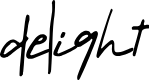 Preview image for delight Font