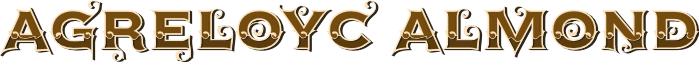 AgreloycAlmond font