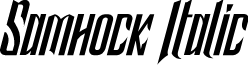 Samhock Italic