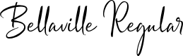 Preview image for Bellaville Regular Font
