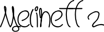 Melinett 2 - LJ-Design Studios Italic