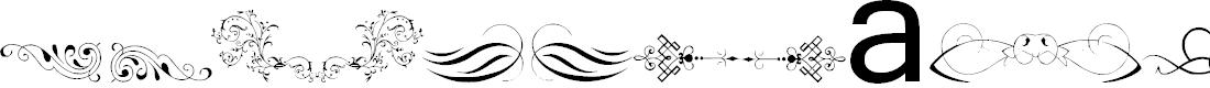 Preview image for Vintage Decorative Signs 13 Font