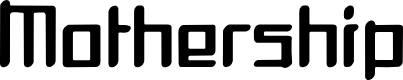 Preview image for Mothership Font