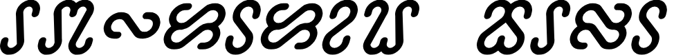 Preview image for Ophidian Bold Italic