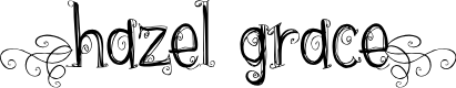Preview image for {hazel grace} Font