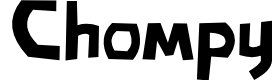 Preview image for Chompy Font