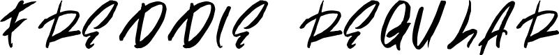 Preview image for Freddie Regular Font