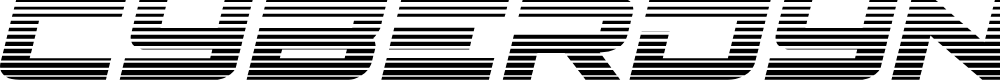 Preview image for Cyberdyne Gradient Italic