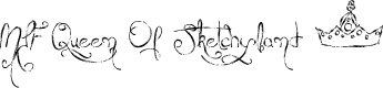 Preview image for MTF Queen Of Sketchyland Font