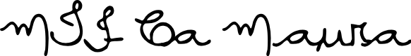Preview image for MTF Ca Maura Font