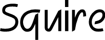 Preview image for Squire Font