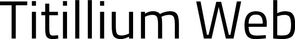 Preview image for Titillium Web Font