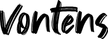 Preview image for Vontens Font