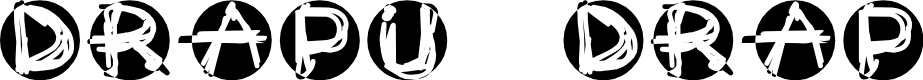 Preview image for Drapu drap Font