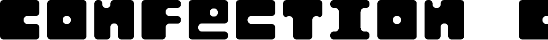 Preview image for Confection Cubes Font