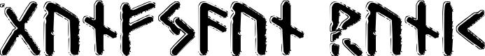 Preview image for Gunfjaun Runic Font