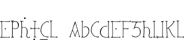 Preview image for Ephotical Font