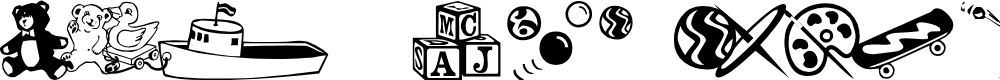 Preview image for AEZ classical toys Font
