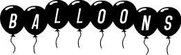 Preview image for SF Balloons Italic