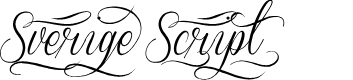 Preview image for Sverige Script Decorated Demo