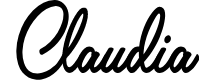 Preview image for Claudia Personal Use Regular Font
