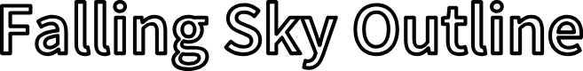 Preview image for Falling Sky Outline