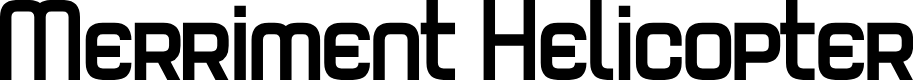 Preview image for Merriment Helicopter Font