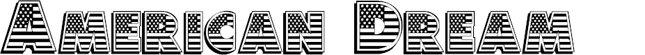 Preview image for American Dream Font