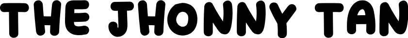 Preview image for THE JHONNY TAN Font