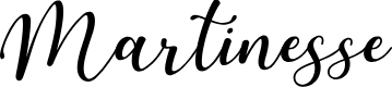 Preview image for Martinesse Font