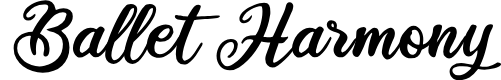 Preview image for Ballet Harmony Font