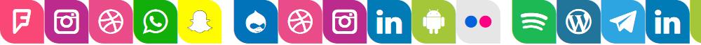Icons Social Media 1