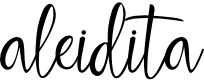 Preview image for aleidita Font