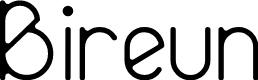 Preview image for Bireun Font