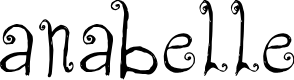 Preview image for CF Anabelle Regular Font