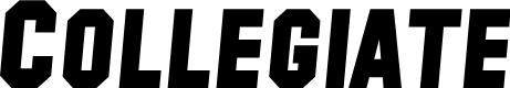 Preview image for SF Collegiate Solid Bold Italic