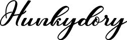 Preview image for Hunkydory Font