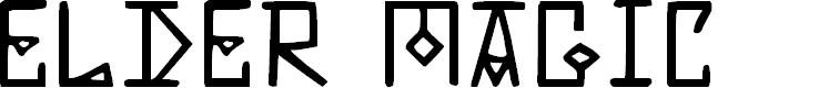 Preview image for Elder Magic Font