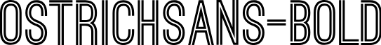 OstrichSans-Bold