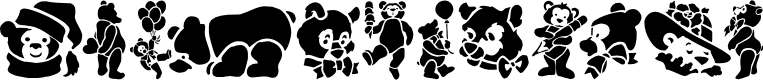 Preview image for TeddyBears Font